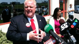 Rob Ford in a file photo from June 17, 2010
