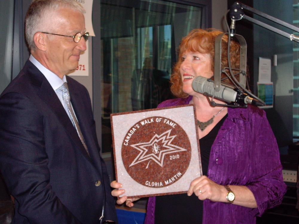 680News showbiz editor Gloria Martin gets honorary star on ...