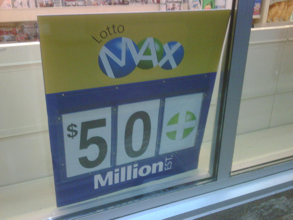 $50 Million Lotto Max Jackpot Up For Grabs