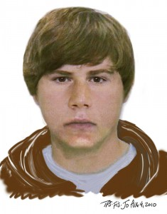 Composite sketch of person of interest in Markham house fire