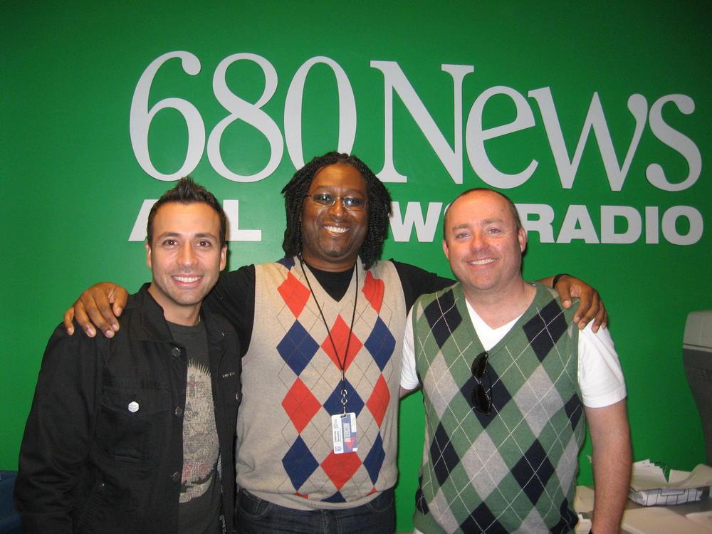 Howie D., Backstreet Boys band member, live at 680News