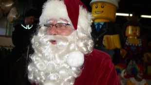 Santa Claus comes to town on Sunday, Nov. 20