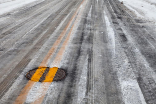 Crashes across GTA due to slippery roads, two fatalities