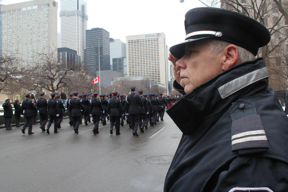 Thousands attend funeral for Sgt. Ryan Russell - 680 NEWS