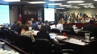 Toronto executive committee meeting