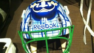 Luongo To Debut New Mask Tonight