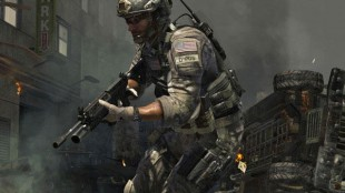A screenshot from Call of Duty 3 Modern Warfare, scheduled to be released on Tuesday. The first-person shooter is one of the most highly anticipated games of the year.