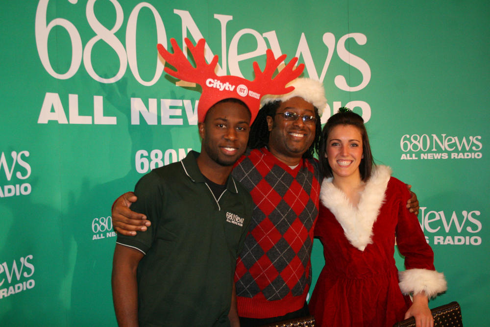 680News and Citytv take part in 'Spirit of the Season ...