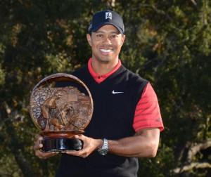 Tiger Woods wins the Chevron World Challenge in California on Dec. 4