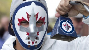 The Jets return to Winnipeg