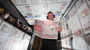 News Of The World Newspaper Closes