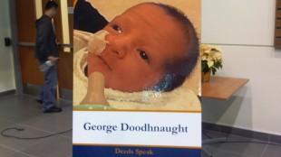 Nine-week-old George Doodhnaught hasn't been seen since late October