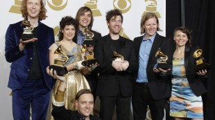 Arcade Fire win Album of the Year at the Grammy Awards