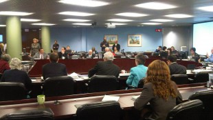 Day two of back-to-back days of public hearings into the 2012 budget at City Hall (Dec. 8, 2011)