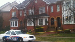 Scene where woman was found dead in Oakville