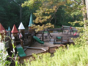 Police say arson may be to blame after fire damaged the Jamie Bell Adventure Playground in High Park.