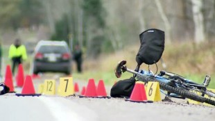 Police investigate after a 17-year-old boy was killed after being struck by a car while riding his bike.