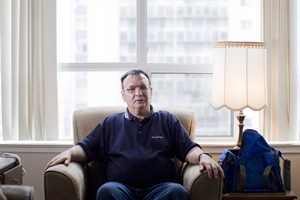 David White, 58, who has an intellectual disability, is pictured in his apartment at Vita Community Living in Toronto on Friday November 9, 2012. THE CANADIAN PRESS/Chris Young