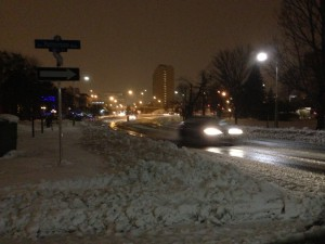 Provincial police are reminding drivers to slow down and adjust their driving to the wintry conditions.