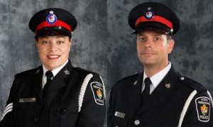 York Police confirmed media officers Sergeant Kelly Bachoo and Police Constable Andy Pattenden are in serious, but stable condition.