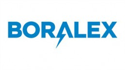 The corporate logo of alternative energy producer Boralex Inc. is shown. THE CANADIAN PRESS/HO
