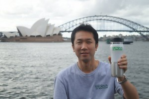 Terry Iwata in Australia