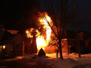 Wincanton Road, Markham fire