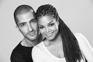 This 2012 publicity photo provided by Guttman Associates shows Janet Jackson with Wissam Al Mana, in a portrait taken by photographer, Marco Glaviano. A representative for Jackson confirmed Monday, Feb. 25, 2013, that the musician and Wissam Al Mana wed last year. (AP Photo/Guttman Associates, Marco Glaviano)