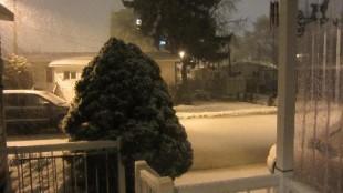 Snowfall in Mississauga