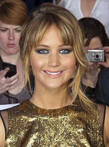 Jennifer Lawrence in 2012