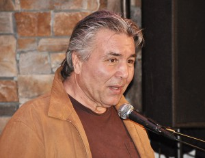 Famed Canadian boxer George Chuvalo.