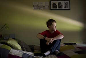 Transgender student Wren Kauffman, 11, was born a girl but at the age of 9 started identifying as a boy and now lives his life as a male in Edmonton, Alberta on Thursday August 29, 2013. THE CANADIAN PRESS/Jason Franson