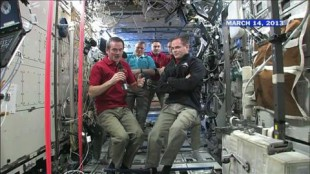 Rewind 2013: Chris Hadfield's final space mission