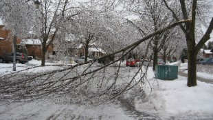 GTA ice storm