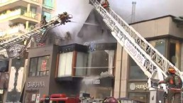 Yorkville building gutted by fire