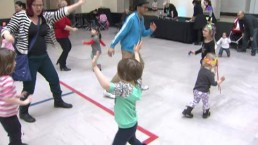 Bouncy castles and confetti spell fun this Family Day