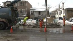 Fluctuating temps blamed for watermain breaks