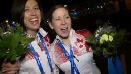 Canada takes gold in women's curling at Sochi