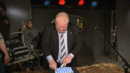 Mayor Ford attends local music fundraiser