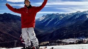 Canadian halfpipe skier Noah Bowman. IMAGE COURTESY OF INSTAGRAM/noahbowmanski