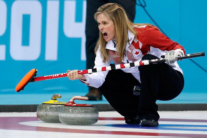Jones Curling Olympics Olympic Curling Final