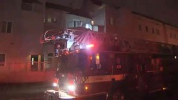Crews battle fire at downtown Toronto apartment