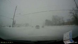 Viewer video: Dashcam footage on Hwy. 7 during storm