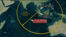 Search area expands for missing Malaysian Airlines flight