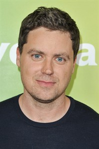 "Greg Poehler arrives at the NBC Universal Summer Press Day on Tuesday, April 8, 2014, in Pasadena, Calif. Poehler is the star and executive producer of ""Welcome to Sweden,"" Thursdays on NBC (9-9:30 p.m. ET). His sister, actress Amy Poehler, is also executive producer on the show. The series premieres July 10, 2014. (Photo by Richard Shotwell/Invision/AP)"