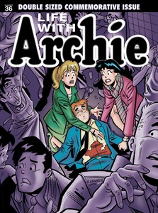 """This photo released by Archie Comics shows """"Life with Archie."""" Archie Comics says the famous comic book character will heroically sacrifice himself while saving the life of a friend in a July 2014 installment of """"Life with Archie."""" The comic book series tells the story of grown-up renditions of Archie and his Riverdale pals. (AP Photo/Archie Comics)"""