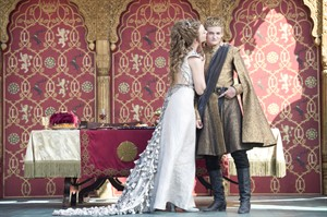 """Natalie Dormer as Margaery Tyrell and Jack Gleeson as Joffrey Baratheon in a scene from from """"Game of Thrones."""" THE CANADIAN PRESS/ho-HBO Canada"""