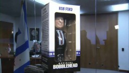 Doug Ford unveils new batch of Mayor Ford bobbleheads