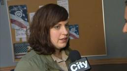 Raw video: Allison Tolman on role as Molly Solverson in 'Fargo'