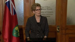 Premier Kathleen Wynne comments on Jim Flaherty's death